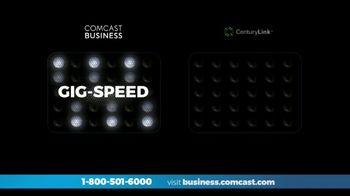 Comcast Business TV Spot, 'Who Delivers More: CenturyLink'