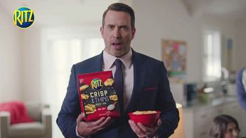 Ritz Crackers Crisp & Thins TV Spot, 'Live Mascot' - Thumbnail 2