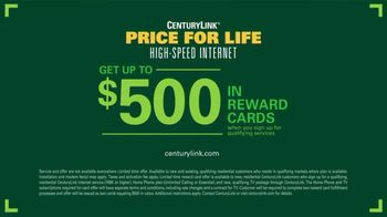 CenturyLink Price For Life High-Speed Internet TV Spot, 'BBQ: Reward Cards' - Thumbnail 9