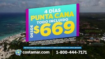 Costamar Travel TV Spot, 'Punta Cana y Cozumel'