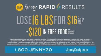 Jenny Craig Rapid Results TV Spot, 'Erin: $120' - Thumbnail 7