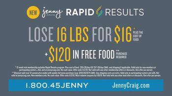 Jenny Craig Rapid Results TV Spot, 'See Change Fast: $120' - Thumbnail 10