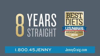 Jenny Craig Rapid Results TV Spot, 'See Change Fast: $120'