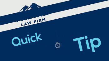 McDivitt Law Firm TV Spot, 'Quick Tip: Social Media'