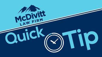 McDivitt Law Firm TV Spot, 'Quick Tip: Social Media' - Thumbnail 2