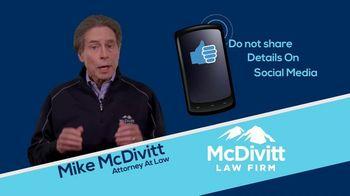 McDivitt Law Firm TV Spot, 'Quick Tip: Social Media' - Thumbnail 5