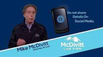 McDivitt Law Firm TV Spot, 'Quick Tip: Social Media' - Thumbnail 6