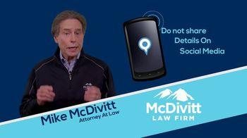McDivitt Law Firm TV Spot, 'Quick Tip: Social Media' - Thumbnail 7