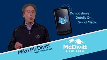 McDivitt Law Firm TV Spot, 'Quick Tip: Social Media' - Thumbnail 8