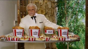 KFC $20 Fill Ups TV Spot, 'Applause' Featuring Jason Alexander - Thumbnail 5