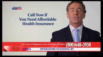 America's Healthcare Network TV Spot, 'Health Insurance Cost' - Thumbnail 8