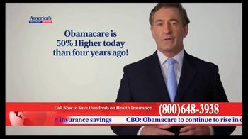 America's Healthcare Network TV Spot, 'Health Insurance Cost' - Thumbnail 1
