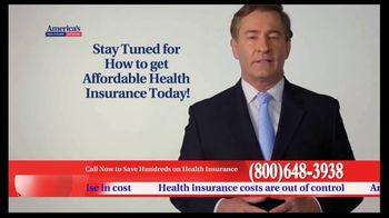 America's Healthcare Network TV Spot, 'Health Insurance Cost' - Thumbnail 3