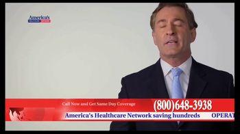 America's Healthcare Network TV Spot, 'Health Insurance Cost' - Thumbnail 4