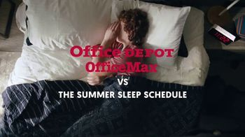 Office Depot OfficeMax $1 Supplies TV Spot, 'The Summer Sleep Schedule'