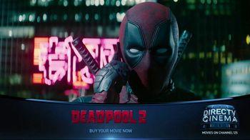 DIRECTV Cinema TV Spot, 'Deadpool 2' - Thumbnail 1