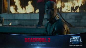 DIRECTV Cinema TV Spot, 'Deadpool 2' - Thumbnail 8