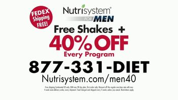 Nutrisystem for Men TV Spot, 'Is This You: Save 40 Percent' - Thumbnail 8