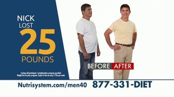 Nutrisystem for Men TV Spot, 'Is This You: Save 40 Percent' - Thumbnail 4