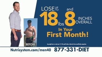 Nutrisystem for Men TV Spot, 'Is This You: Save 40 Percent' - Thumbnail 7