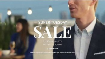 JoS. A. Bank Super Tuesday Sale TV Spot, 'Dress Shirts and Suits' - Thumbnail 7