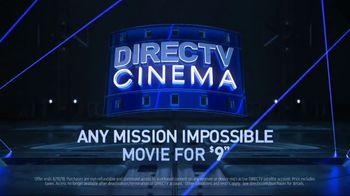 DIRECTV Cinema TV Spot, 'Mission: Impossible Movies' - Thumbnail 6