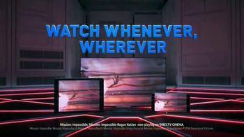DIRECTV Cinema TV Spot, 'Mission: Impossible Movies' - Thumbnail 2