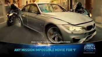 DIRECTV Cinema TV Spot, 'Mission: Impossible Movies' - Thumbnail 4
