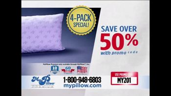 My Pillow TV Spot, 'Your Support: 4-Pack' - Thumbnail 7