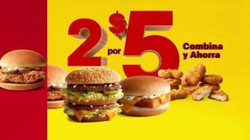McDonald's 2 for $5 Mix & Match TV Spot, 'Duplica' [Spanish]