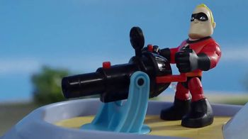 Incredibles 2 Junior Supers TV Spot, 'Hydroliner Playset'