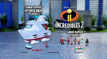 Incredibles 2 Junior Supers TV Spot, 'Hydroliner Playset' - Thumbnail 9