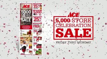 ACE Hardware 5,000 Store Celebration Sale TV Spot, 'Not About Numbers' - Thumbnail 8