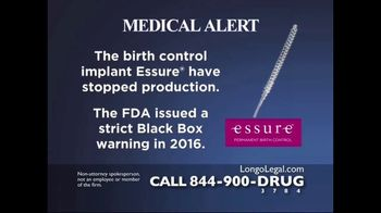 Longo Legal TV Spot, 'Essure'