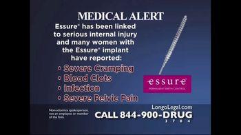 Longo Legal TV Spot, 'Essure' - Thumbnail 2