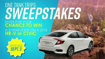 Honda One Tank Trips Sweepstakes TV Spot, 'Hit the Road' [T2] - Thumbnail 6