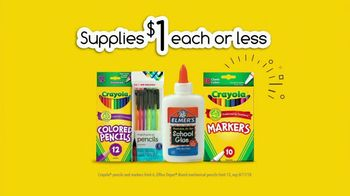 Office Depot OfficeMax TV Spot, 'Go Back With $1 Supplies: Drop Off' - Thumbnail 10