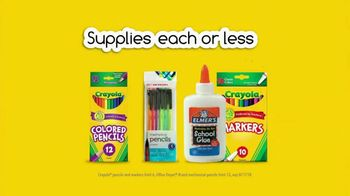 Office Depot OfficeMax TV Spot, 'Go Back With $1 Supplies: Drop Off' - Thumbnail 9