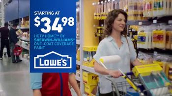 Lowe's TV Spot, 'The Moment: HGTV Home' - Thumbnail 9