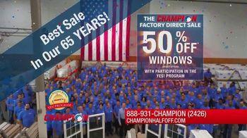 Champion Windows Factory Direct Sale TV Spot, 'No Middleman' - Thumbnail 9