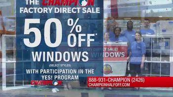 Champion Windows Factory Direct Sale TV Spot, 'No Middleman' - Thumbnail 1