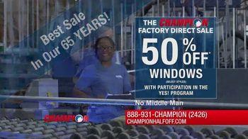Champion Windows Factory Direct Sale TV Spot, 'No Middleman' - Thumbnail 4