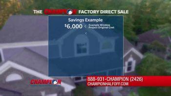 Champion Windows Factory Direct Sale TV Spot, 'No Middleman' - Thumbnail 5