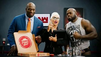 Pizza Hut Cheesy Bites Pizza TV Spot, 'USA Network: WWE' Feat. Titus O'Neil