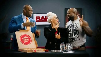 Pizza Hut Cheesy Bites Pizza TV Spot, 'USA Network: WWE' Feat. Titus O'Neil - Thumbnail 10