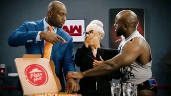 Pizza Hut Cheesy Bites Pizza TV Spot, 'USA Network: WWE' Feat. Titus O'Neil - Thumbnail 5