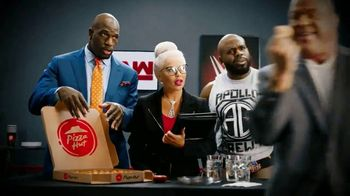 Pizza Hut Cheesy Bites Pizza TV Spot, 'USA Network: WWE' Feat. Titus O'Neil - Thumbnail 8