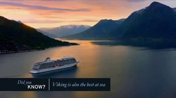 Viking Cruises TV Spot, 'Did You Know?' - Thumbnail 4