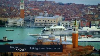 Viking Cruises TV Spot, 'Did You Know?' - Thumbnail 6