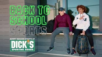 Dick's Sporting Goods Cyber Week TV Spot, 'Back to School: Nike and adidas'